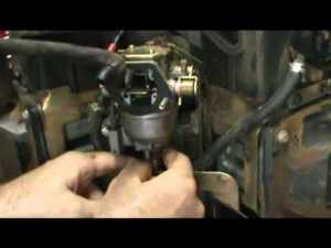 Small Engine Repair: How to Check a Solenoid Fuel Shut Off Valve on a Kohler Vtwin Engine  YouTube