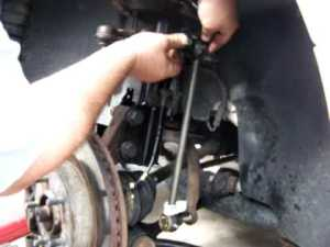 Anti sway bar link repair  YouTube