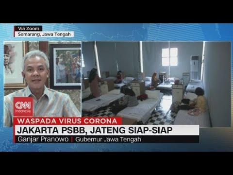 Jakarta PSBB, Jateng Siap-siap