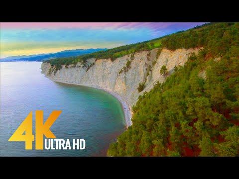 4K Fascinating Sunset over the Black Sea, Krasnodar Region - Short Preview Video