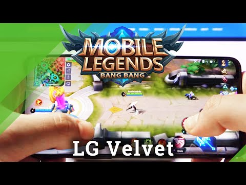 Mobile Legends on LG Velvet – Gaming Checkup