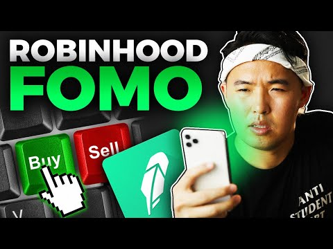 Dividend Stock Investing FOMO on Robinhood App 2020(Investing for beginners)