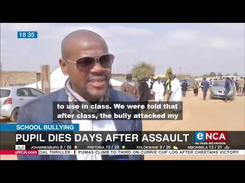 School Bullying   Pupil dies days after assault