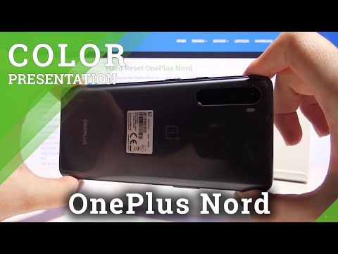 Check Out Color Presentation of OnePlus Nord – Gray Onyx