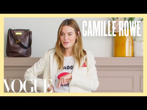 Every Outfit Camille Rowe Wears in a Week | 7 Days, 7 Looks | Vogue