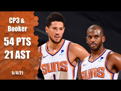 Chris Paul & Devin Booker combine for big night vs. Cavs | NBA Highlights