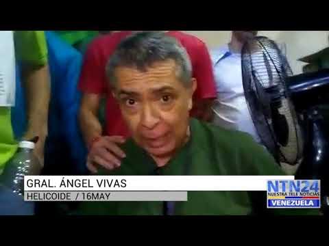Video enviado por los presos políticos permite ver el deteriorado estado del general Ángel Vivas