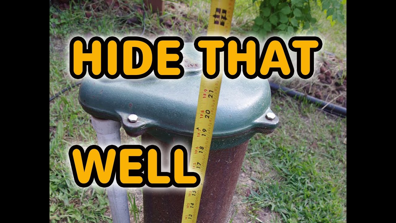 Easy Water Well Cover Ideas How To Use Decorative Well Head Covers YouTube