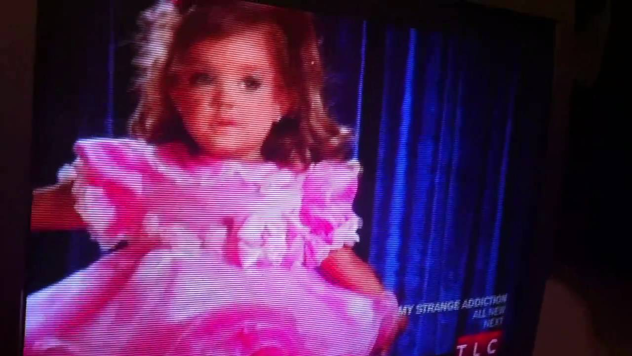 Very Tired Brenna A Toddlers And Tiaras Tumble Youtube