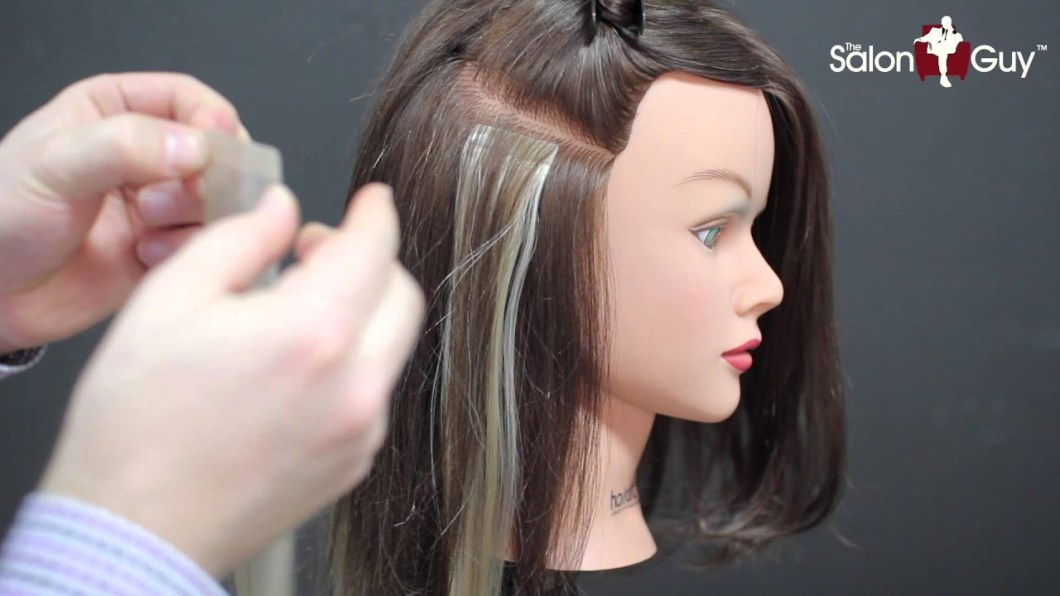 Invisi Tab Hair Extensions Cost Choice Image Hair Extensions For