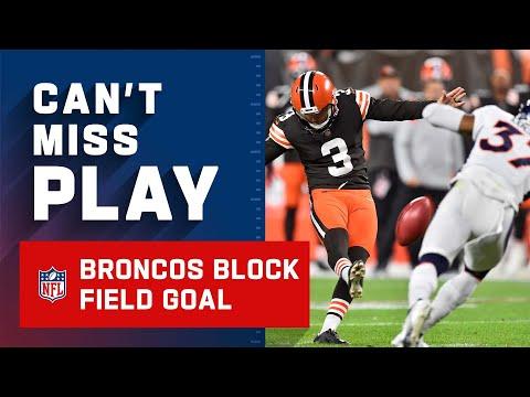 "The Broncos Say ""No Thanks"" & Block Kick"