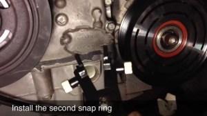 AC Compressor Clutch Repair  Replacement  Nissan Altima  DIY  Part 2  YouTube