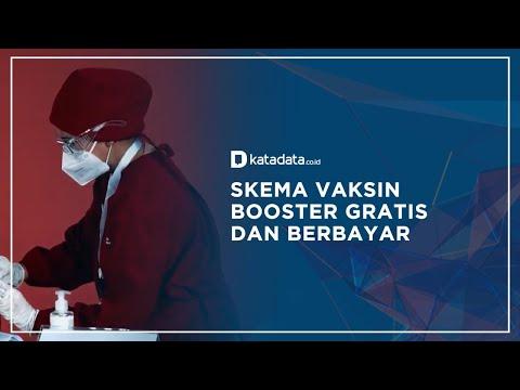 Pemerintah Siapkan Dua Skema Pemberian Dosis Vaksin Ketiga | Katadata Indonesia