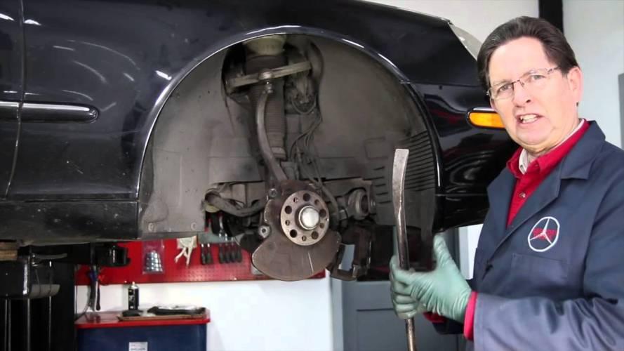 Diy Car Repair Quick Tip 4 Rubber Suspension Bushing Inspection Youtube