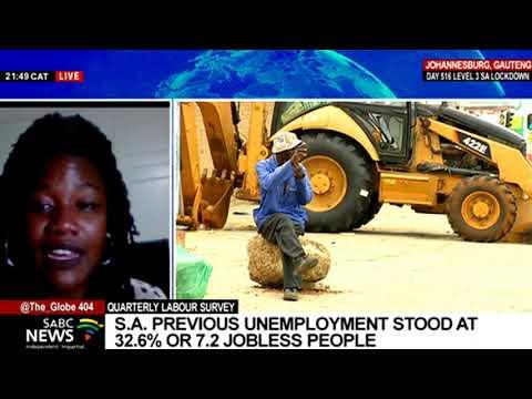 Discussion:  SA's  unemployment figures