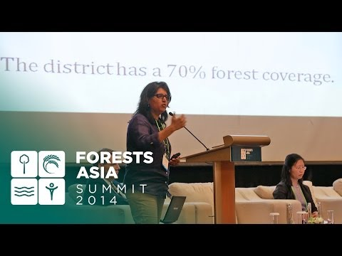Forests Asia 2014 - Day 1 Discussion Forum, Sloping lands in transition