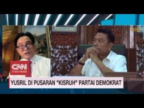 Yusril di Pusaran Kisruh Partai Demokrat