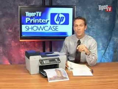 Hp Officejet 5610 All In One Printer Youtube