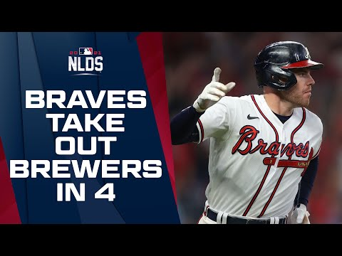 Braves upset Brewers in 4 games to start out NL Postseason matchups! | NLDS Game Highlights