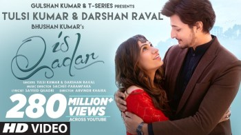 Tulsi Kumar & Darshan Raval to treat fans with their electric chemistry in the new single 'Is Qadar'!