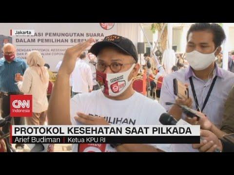 Protokol Kesehatan Saat Pilkada bagi Pemilih Bergejala