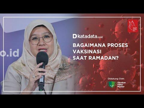 Bagaimana Proses Vaksinasi Saat Ramadan? | Katadata Indonesia