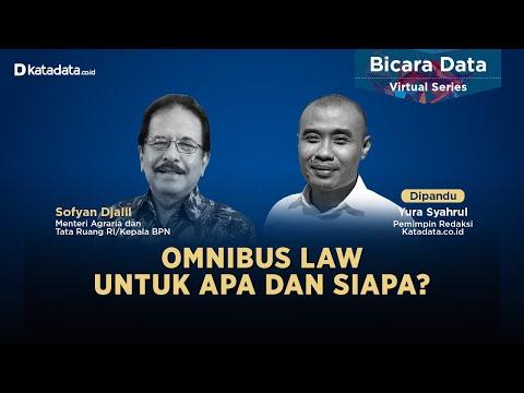 Omnibus Law Untuk Apa dan Siapa?   Katadata Indonesia