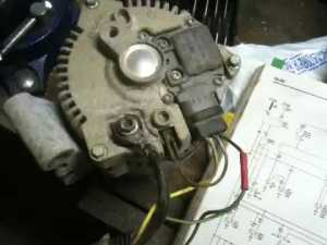 Ford alternator wiring questions  YouTube