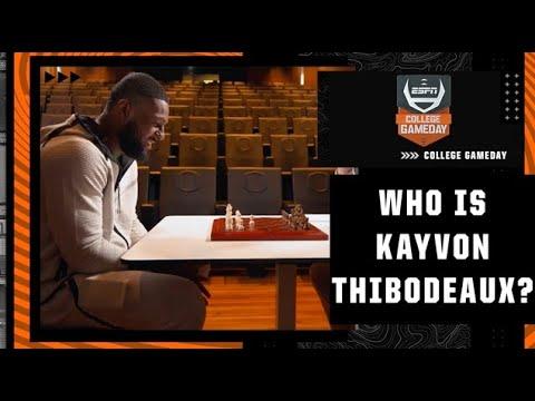 How the game of chess has influenced Kayvon Thibodeaux | College GameDay