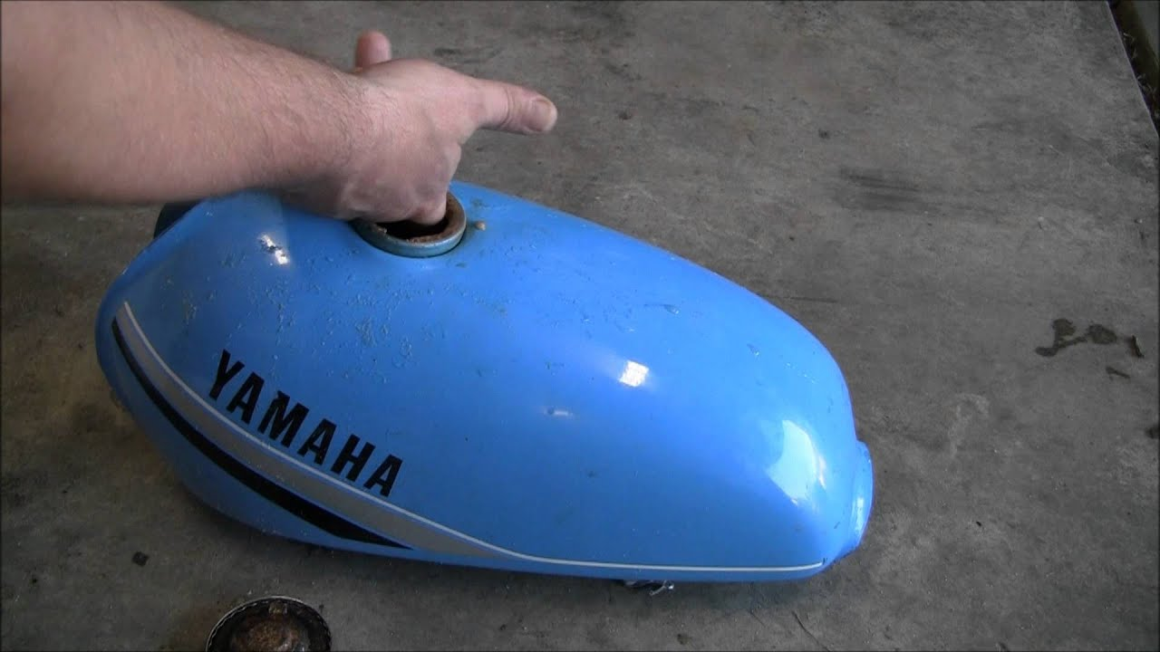 Remove Rust From Motorcycle Gas Tank Less Than 5 Dollars