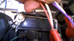 Diagnostic Under the Flywheel on a Mercury Outboad Motor