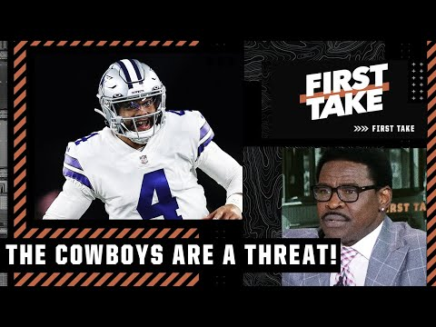 The Cowboys are the biggest threat to the Cardinals - Michael Irvin   First Take