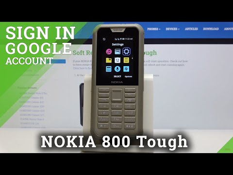 How to Add & Remove Google Account in NOKIA 800 Tough – Customize Google User