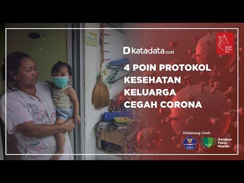 4 Poin Protokol Kesehatan  Keluarga Cegah Corona | Katadata Indonesia
