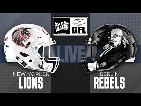 Sharkwater GFL 2021: New Yorker Lions - Berlin Rebels