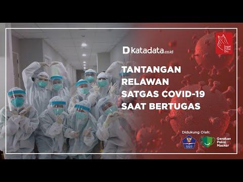 Tantangan Relawan Satgas Covid-19 Saat Bertugas | Katadata Indonesia
