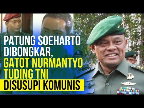 Gatot Nurmantyo Tuding Hilangnya Patung Soeharto, Tanda Penyusup di Internal TNI