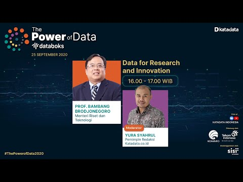 The Power of Data: Data For Research & Innovation | Katadata Indonesia
