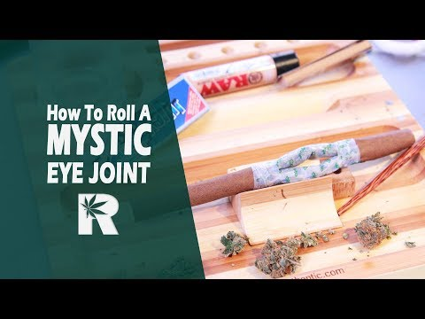 How To Roll A Mystic Eye Joint/ Blunt Hybrid: Cannabasics #70