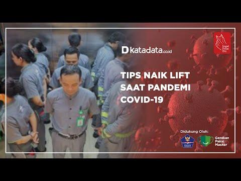 Tips Naik Lift Saat Pandemi Covid-19 | Katadata Indonesia