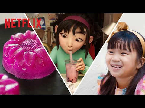 What These Asian American Families Love About Their Culture | Over the Moon | Netflix