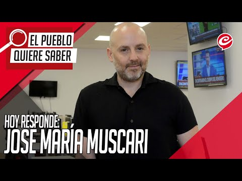 """José María Muscari: """"No hay nada que nos interese más que el sexo"""""""