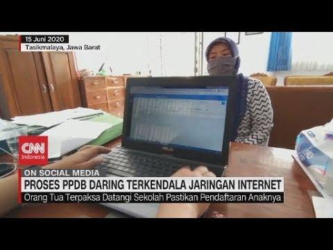 Proses PPDB Daring Terkendala Jaringan Internet