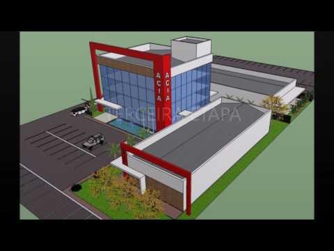 ACIA – Maquete Virtual da nova Sede