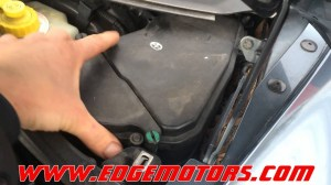 VW touareg Audi Q7 fuel pressure and fuel pump flow test