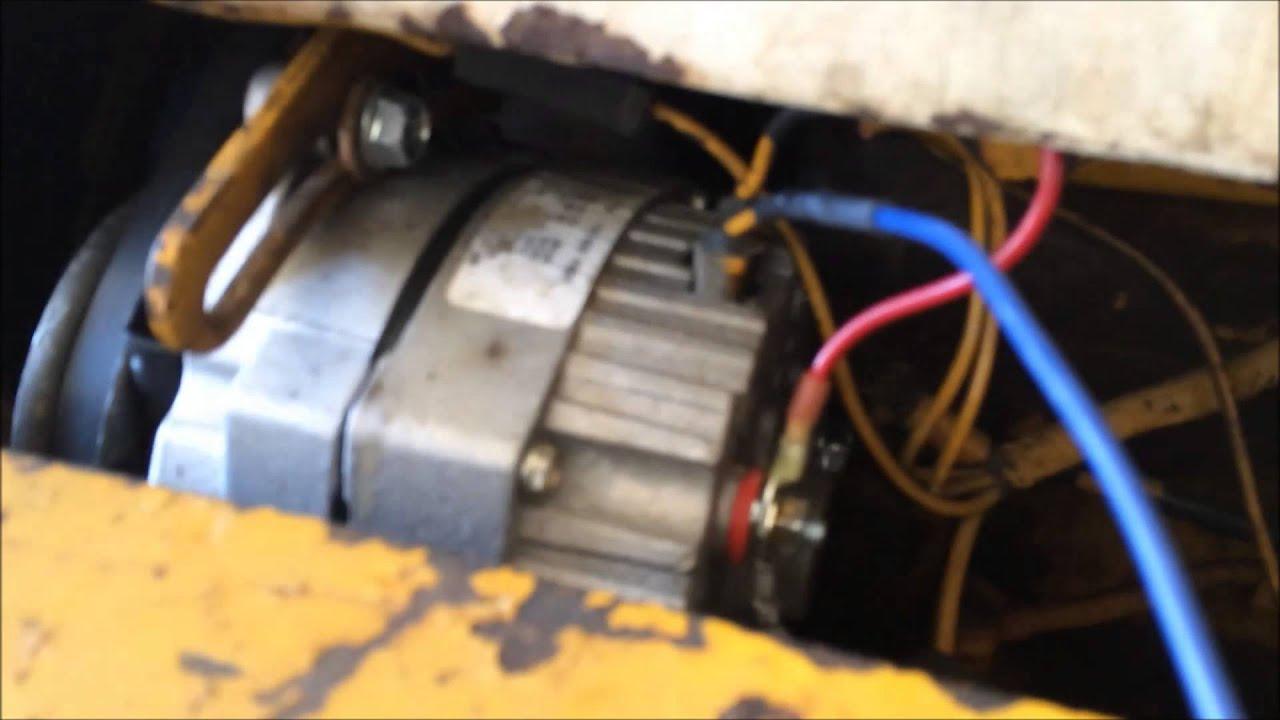 Alternator Wiring Idiot Lightsel Tractor