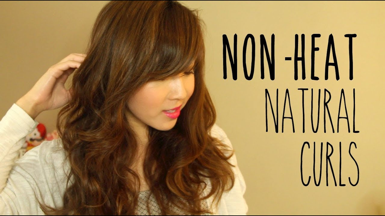 Non Heat Natural Curls YouTube