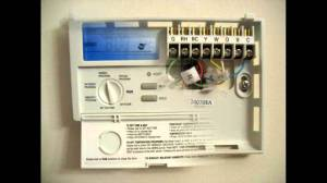 Programmable Thermostat Lux Products TX1500E  YouTube