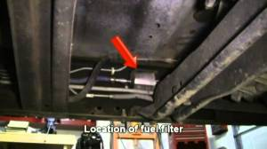 How To Replace the Fuel Filter in a 1997 Ford F150  YouTube