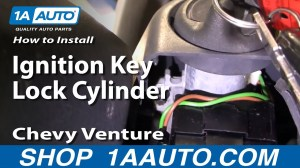 How To Install Replace Ignition Key Lock Cylinder Chevy Venture Trans Sport 9798 1AAuto